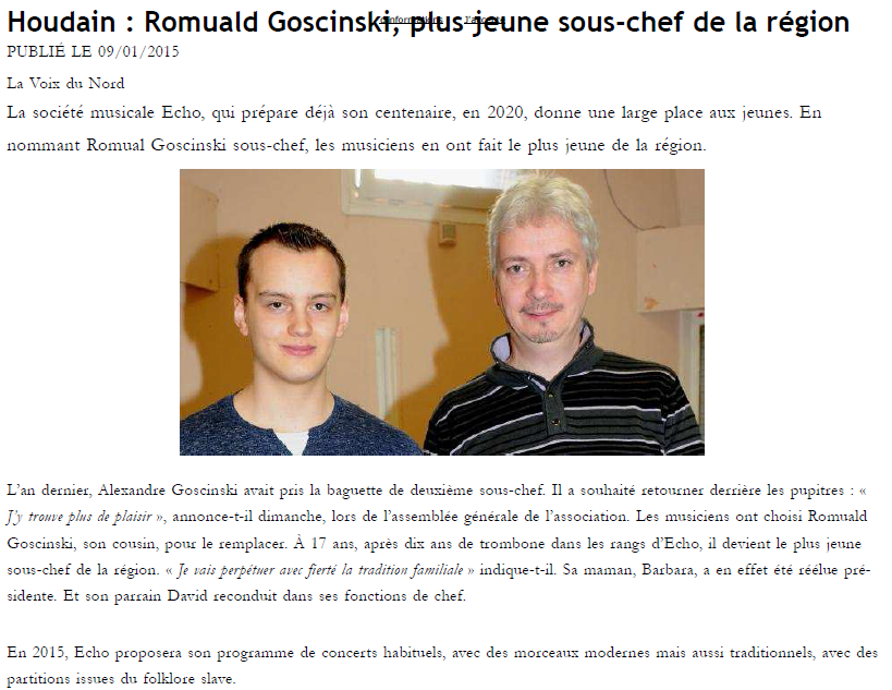 VdN Romuald sous chef